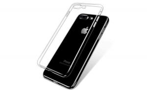 Carcasa din silicon transparenta pentru iPhone 7 Plus