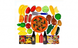 Set food pizza 50 piese