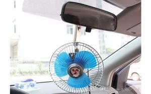 Ventilator auto 16 cm, de interior, cu clema