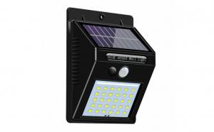 Proiector de perete cu panou solar si senzor de miscare, 30 Led-uri