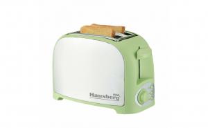 Prajitor paine 2 felii, 750 W, capacitate 2 felii, Verde
