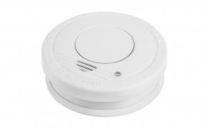 Detector de fum cu senzor si alarma-Acumulator si baterie incluse