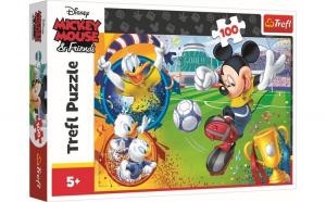 Puzzle trefl 100 mickey mouse pe terenul