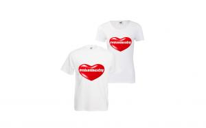 Set 2 tricouri cuplu #Valentine's Day