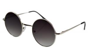 Ochelari de soare John Lennon Mov inchis - Argintiu