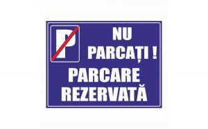 Indicator parcare rezervata Creative