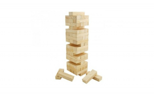 Joc tip Jenga - Turnul instabil, #StamAcasa, Jocuri pentru toti