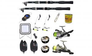 Set complet de pescuit sportiv cu lanset