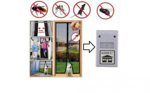 Perdea magnetica + aparat anti-daunatori
