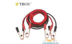 Cablu de pornire  pentru bateri auto 35mm     4.5m Troy