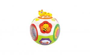 Jucarie interactiva 2 in 1 minge Catch-Me Hola Toys, multifunctionala, la doar 145 ron in loc de 179 ron