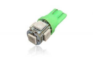 Bec pozitie T10 5 led SMD 5050 lumina