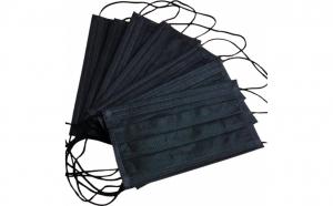 Set de 50 de masti protectie negru