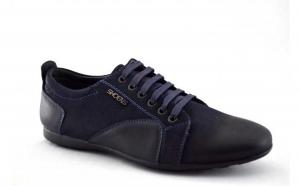 Pantofi sport barbatesti bleumarin - Shoe NS la doar 115 RON in loc de 230 RON