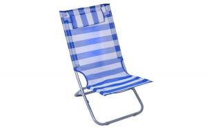 Scaun pliabil de plaja, 45x40x80 cm