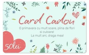 Card Cadou in valoare de 50 RON