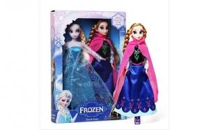 Set papusi Frozen: Anna si Elsa, Sarbatori Pascale, Copii
