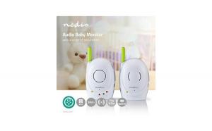 Monitor digital audio pentru bebelusi de 2.4GHz, Nedis