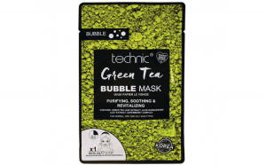 Masca purificatoare TECHNIC Green Tea Bubble Mask, 20 g