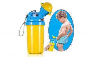 Olita de urinat portabila, pentru baieti