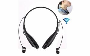 Casti audio KBP-730, cu Wireless si Bluetooth