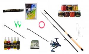 Set lanseta crap epoxy ® 2702 si mulineta G3- RM4000, accesorii si fir cadou
