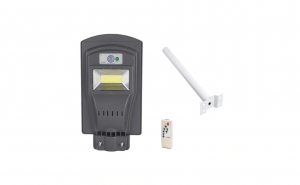 Lampa solara 30W cu telecomanda