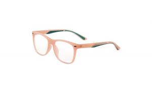 Ochelari cu lentile de protectie pentru calculator, pentru copii, lentile policarbonat, portocaliu translucid cu verde