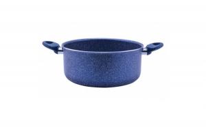 Cratita acoperita cu marmura 24cm Coure Blue