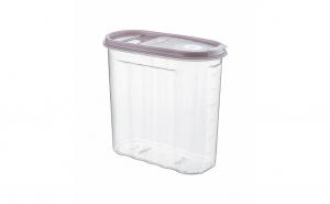 Cutie pentru alimente , din plastic , cu capac , 1.80 l , Tuffex