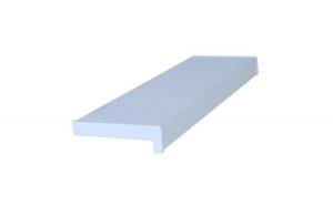 Glaf PVC interior pentru ferestre Alb 100 x 35 cm, Include piese laterale + Silicon alb 280 Ml