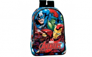 Ghiozdan scoala Avengers, White Monday, Back To School