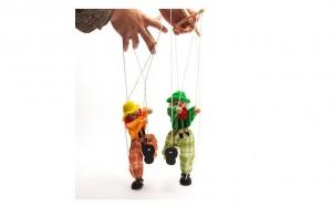 2 marionete lemn