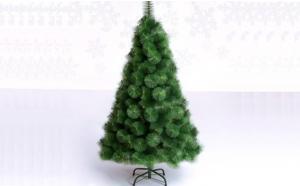 Brad artificial, model pin verde, pentru Craciun, calitate Premium, suport metal, inaltime 2.10 m, la doar 199 RON in loc de 430 RON