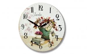Ceas decorativ cu teme florale, un accesoriu minunat pentru orice locuinta, la doar 149 RON in loc de 300 RON