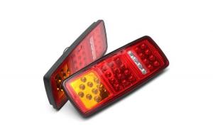 Set 2 lampi spate cu led cu LED 24V