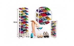 Poate sustine 20 de perechi de pantofi! Etajera suport pentru incaltaminte- Amazing Shoe Rack, la doar 49 RON in loc de 109 RON