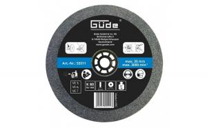 Disc abraziv pentru polizor de banc Guede GUDE55511, O150x20x32 mm, granulatie K80