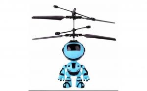 Jucarie interactiva robotel care zboara, reincarcabil cu USB