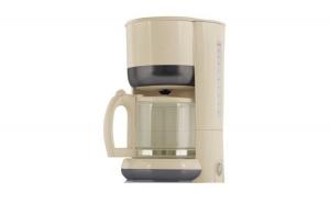 Filtru de cafea Victronic, 980 W, 10-12 Cesti, Bej + Set cutite 3 piese cadou