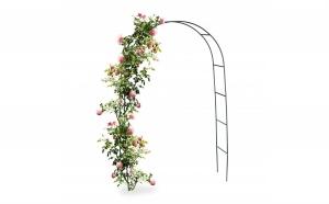 Arcada metalica de gradina pentru flori cataratoare
