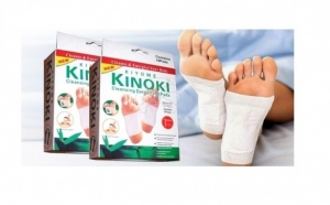 Detoxifica-ti organismul cu ajutorul celor 20 plasturi Kinoki