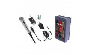 Microfon cu fir si Wireless