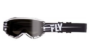 Ochelari moto FLY RACING 2019 Zone culoare negru alb