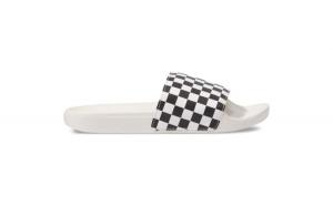 Slapi femei Vans Checkerboard Wht/Blk V4LG27K1