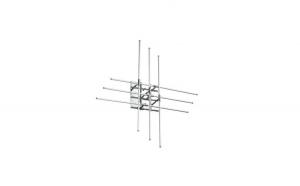 Plafoniera CROSS LED PL6