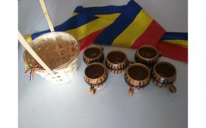Set de cesti traditionale de tuica/palinca