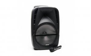 Boxa Portabila Freeman Karaoke 1001 + Microfon,Telecomanda Bluetooth USB SD Negru