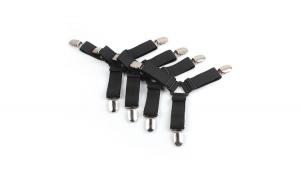 Set 4 cleme elastice, pentru lenjerii si
