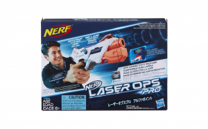 Pistol Nerf-Blaster Alphapoint, Laser Ops Pro, Single Shot, +8 ani Hasbro Black Friday Romania 2017